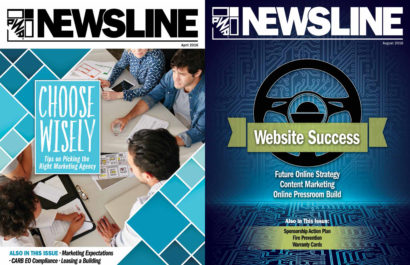 PWA Newsline Design and Layout