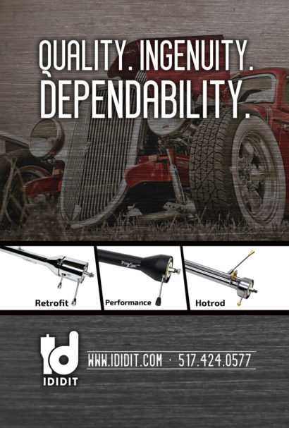 ididit® Full Page Ad – Street Rodder Magazine